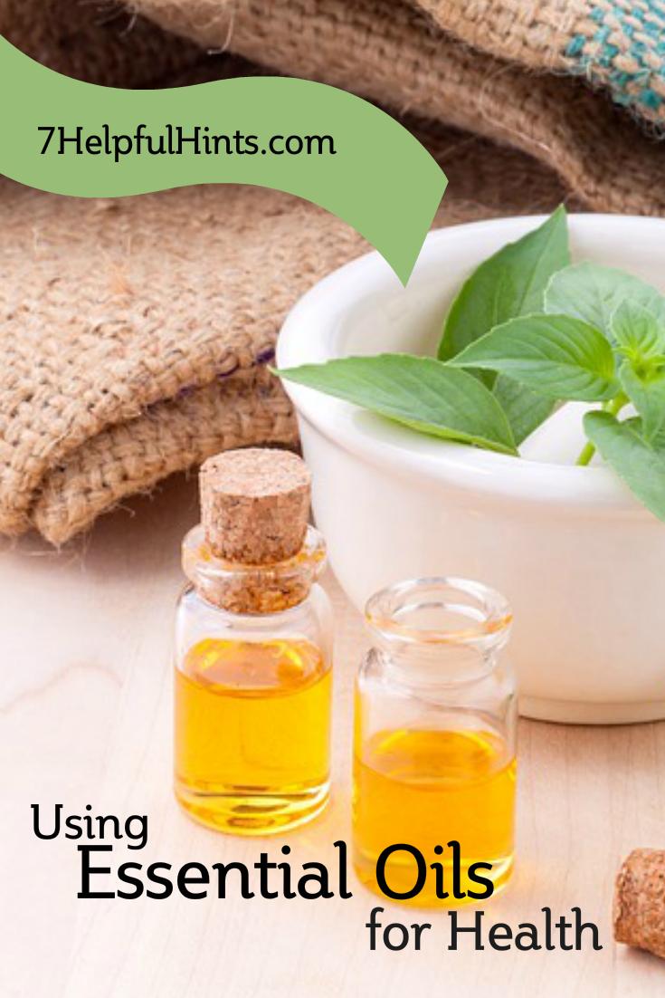 using essential oils for health