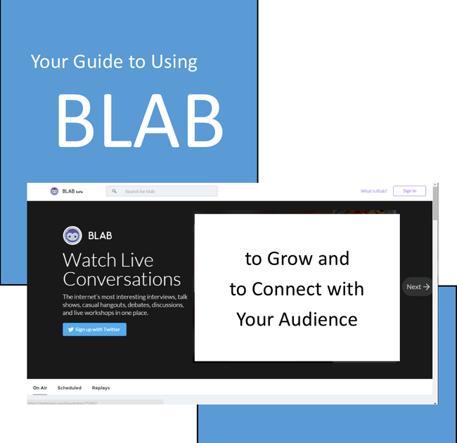 Checklist for Using Blab