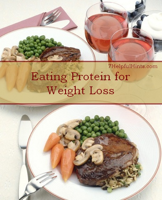 eating protein to lose weight
