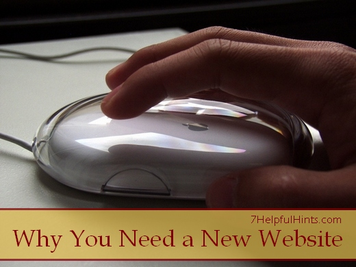 why you need a new website