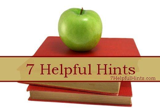 7 Helpful Hints