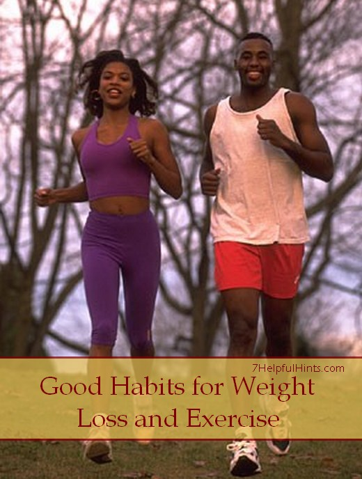 good habits for weight loss and exercise