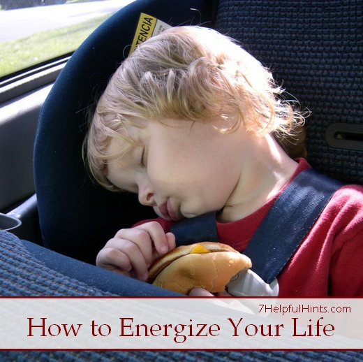 how to energize your life