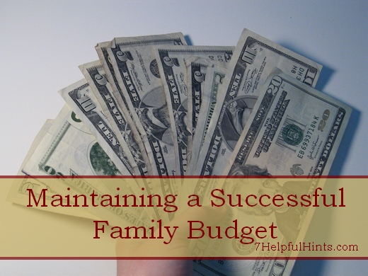 setting a family budget