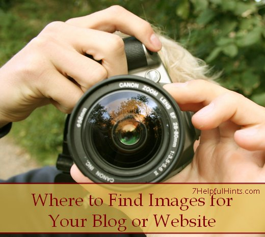 where to find images for your blog or website