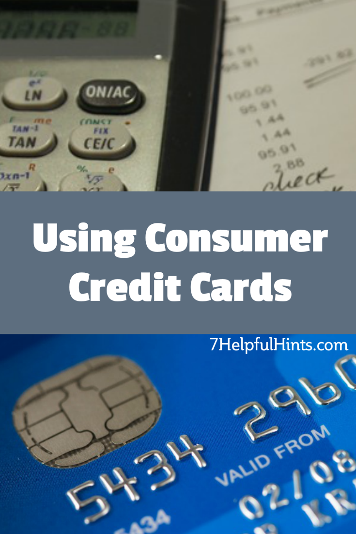 using consumer credit cards
