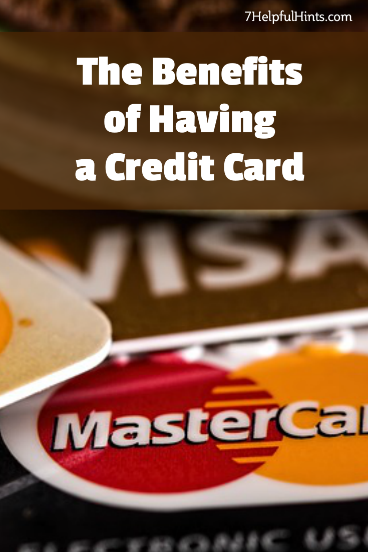 benefits of having a credit card