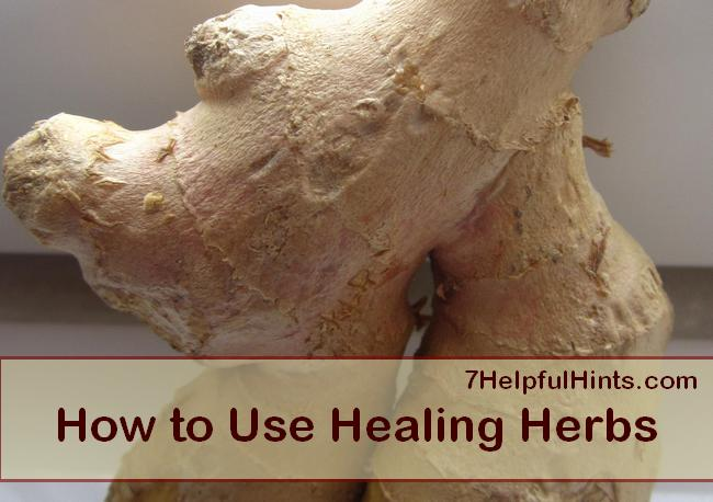 how to use healing herbs