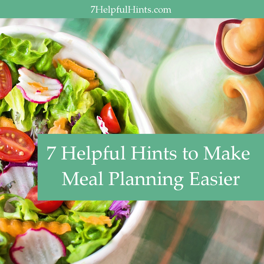 make meal planning easier